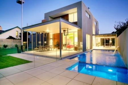 Pour la maison for Maison moderne de luxe avec piscine