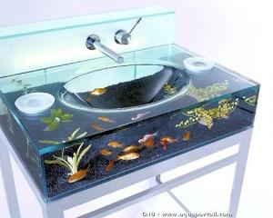 aquarium lavabo