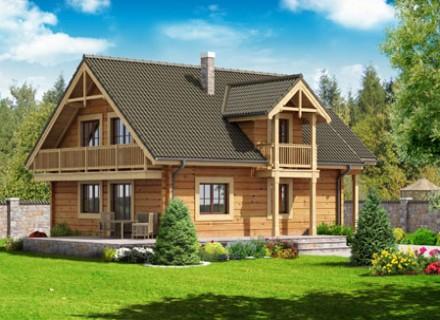 Construire une maison en bois c 39 est cologique for Construire sa maison en bois prix