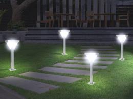 Décoration maison : l'éclairage du jardin